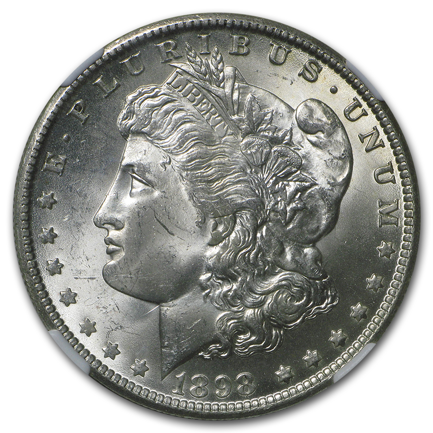 1898-O Morgan Dollar MS-64 NGC