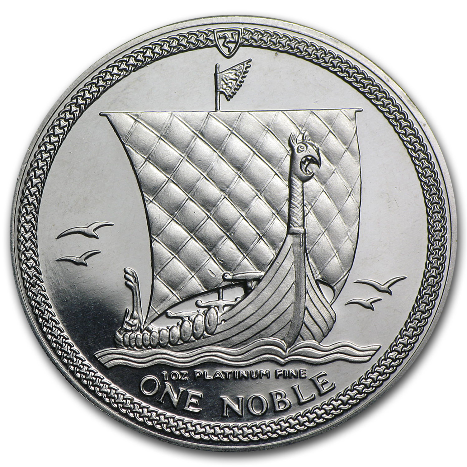 Isle of Man 1 oz Platinum Noble Proof