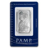 1 oz Palladium Bar - PAMP Suisse (In Assay)