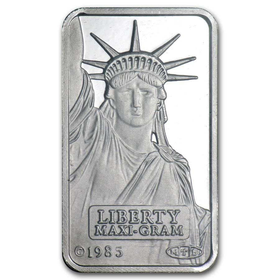 5 gram Platinum Bar - Credit Suisse (In assay)