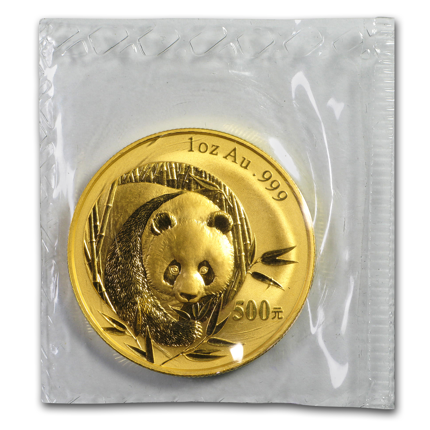 2003 1 oz Gold Chinese Panda BU (Sealed)