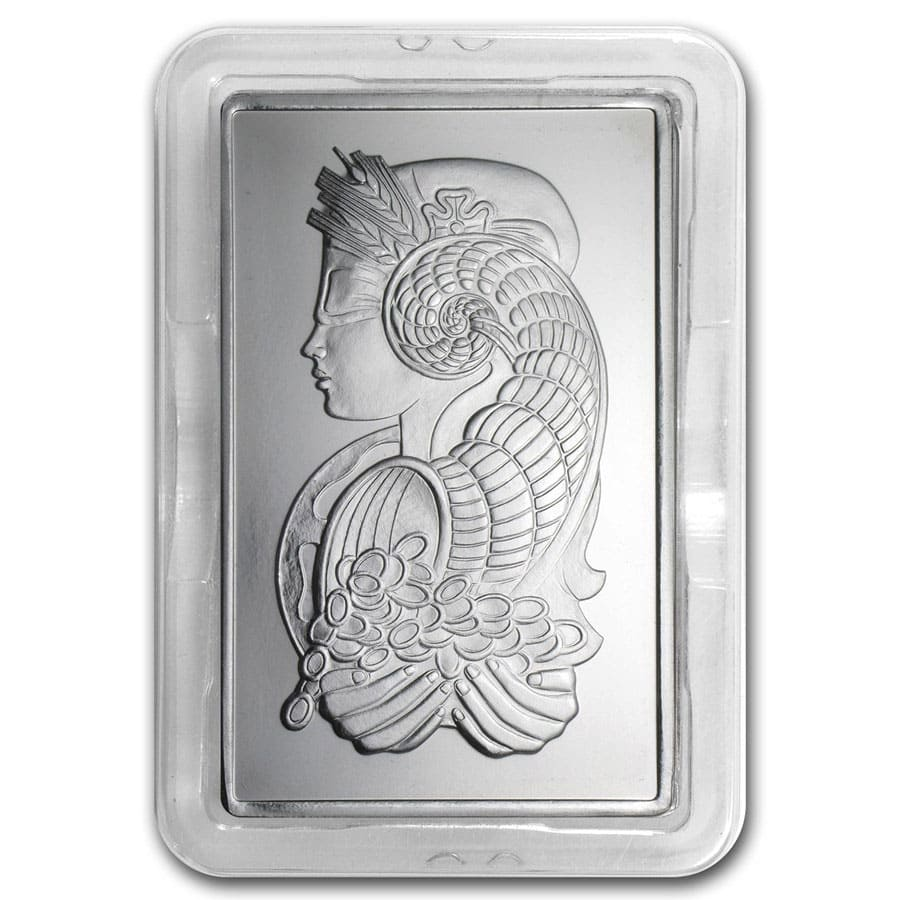 10 oz Palladium Bar - PAMP Suisse (w/Assay)