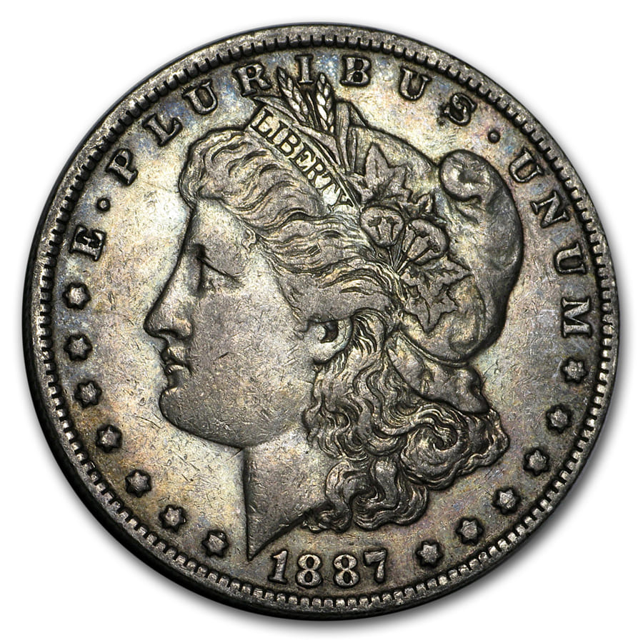 1878-1904 Morgan Silver Dollars XF