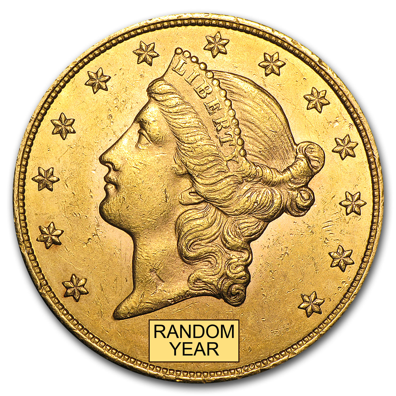 $20 Liberty Gold Double Eagle AU (Random Year)