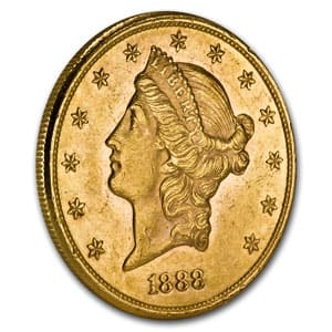$20 Liberty Gold Double Eagle AU