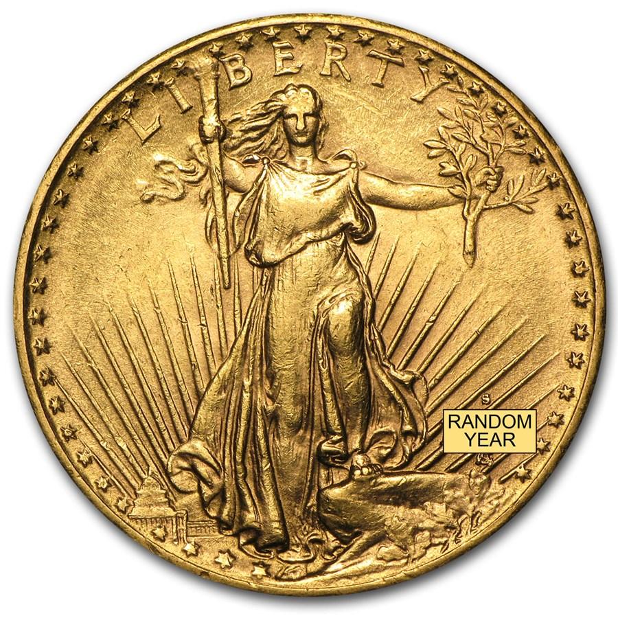 Saint Gaudens Gold Coin For Sale 20 Saint Gaudens