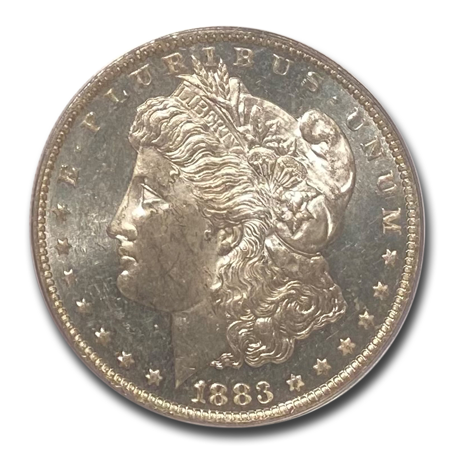 1883-O Morgan Dollar MS-63 DMPL PCGS