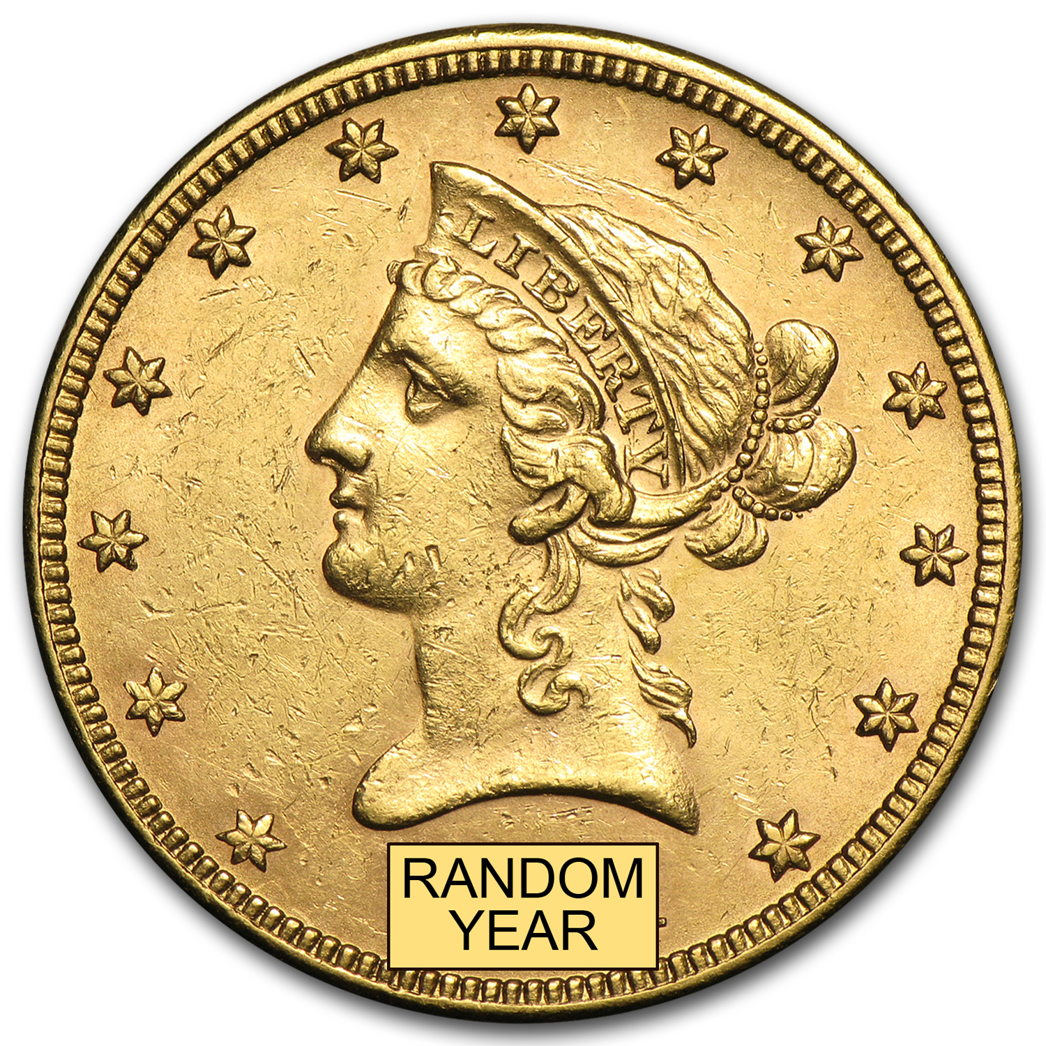 $10 Liberty Gold Eagle AU (Random Years)