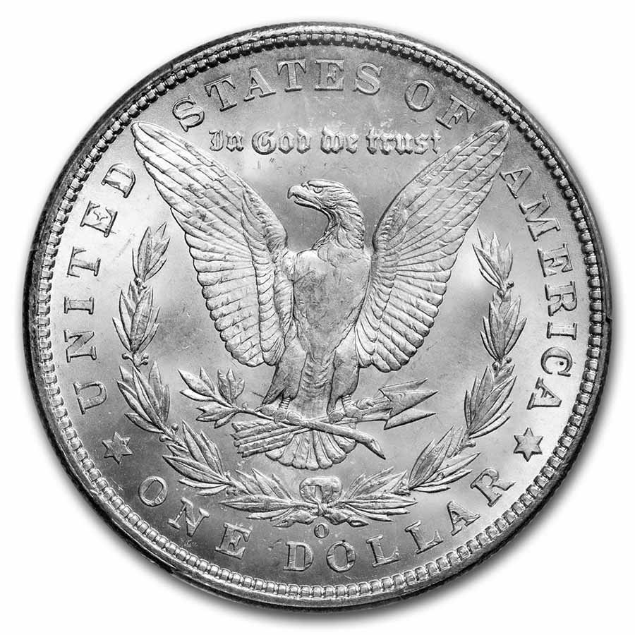 1901-O Morgan Dollar - MS-65 PCGS