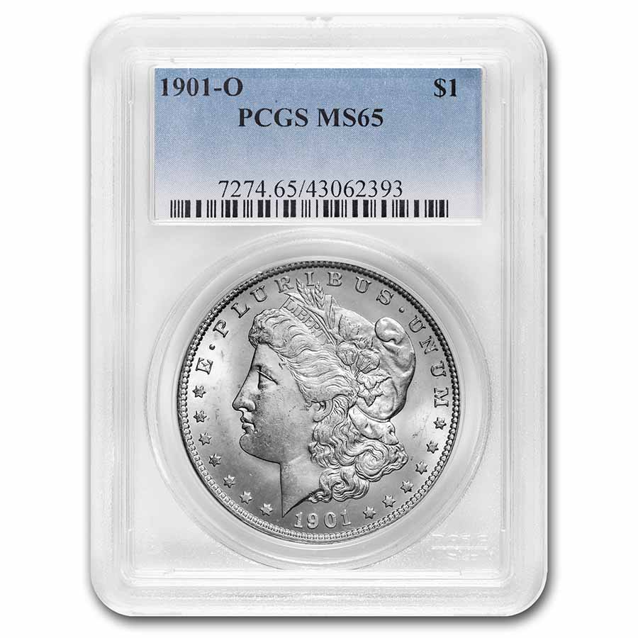 1901-O Morgan Dollar MS-65 PCGS