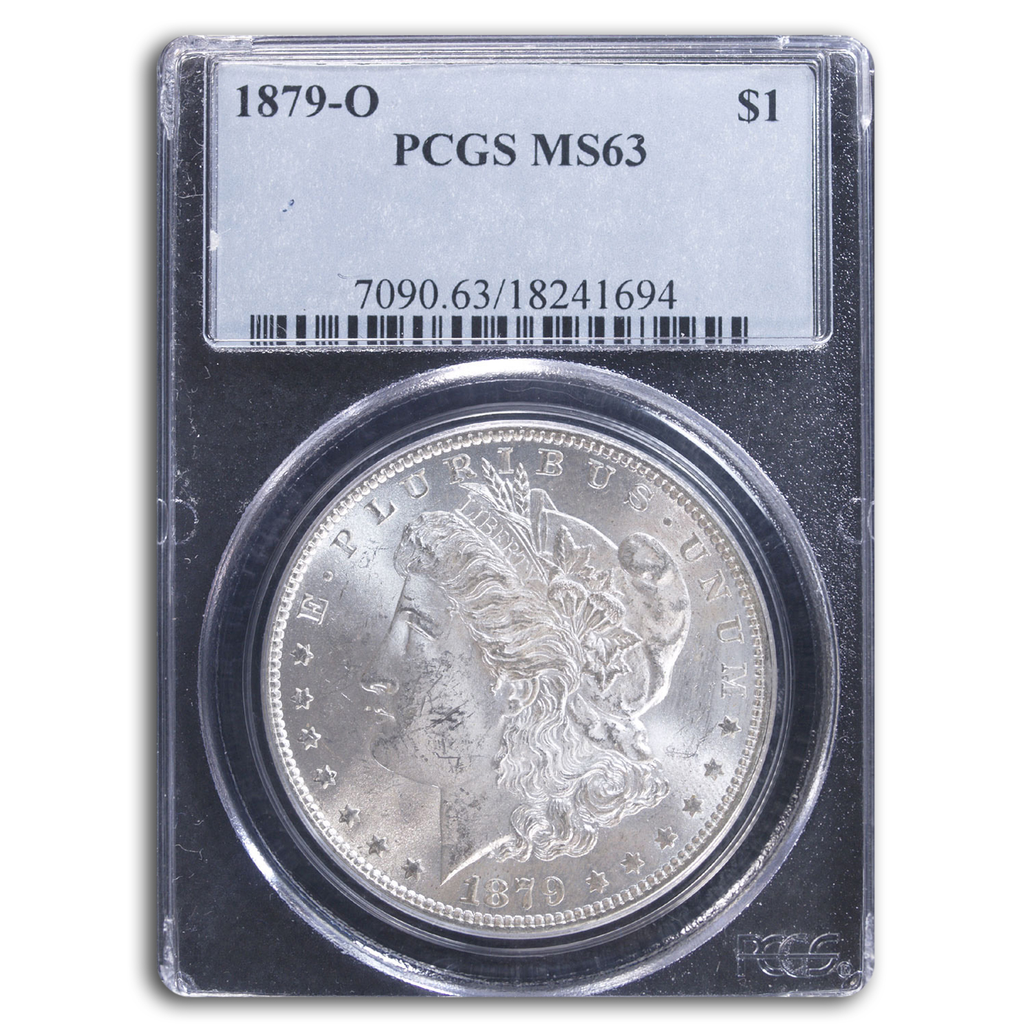 1879-O Morgan Dollar MS-63 PCGS