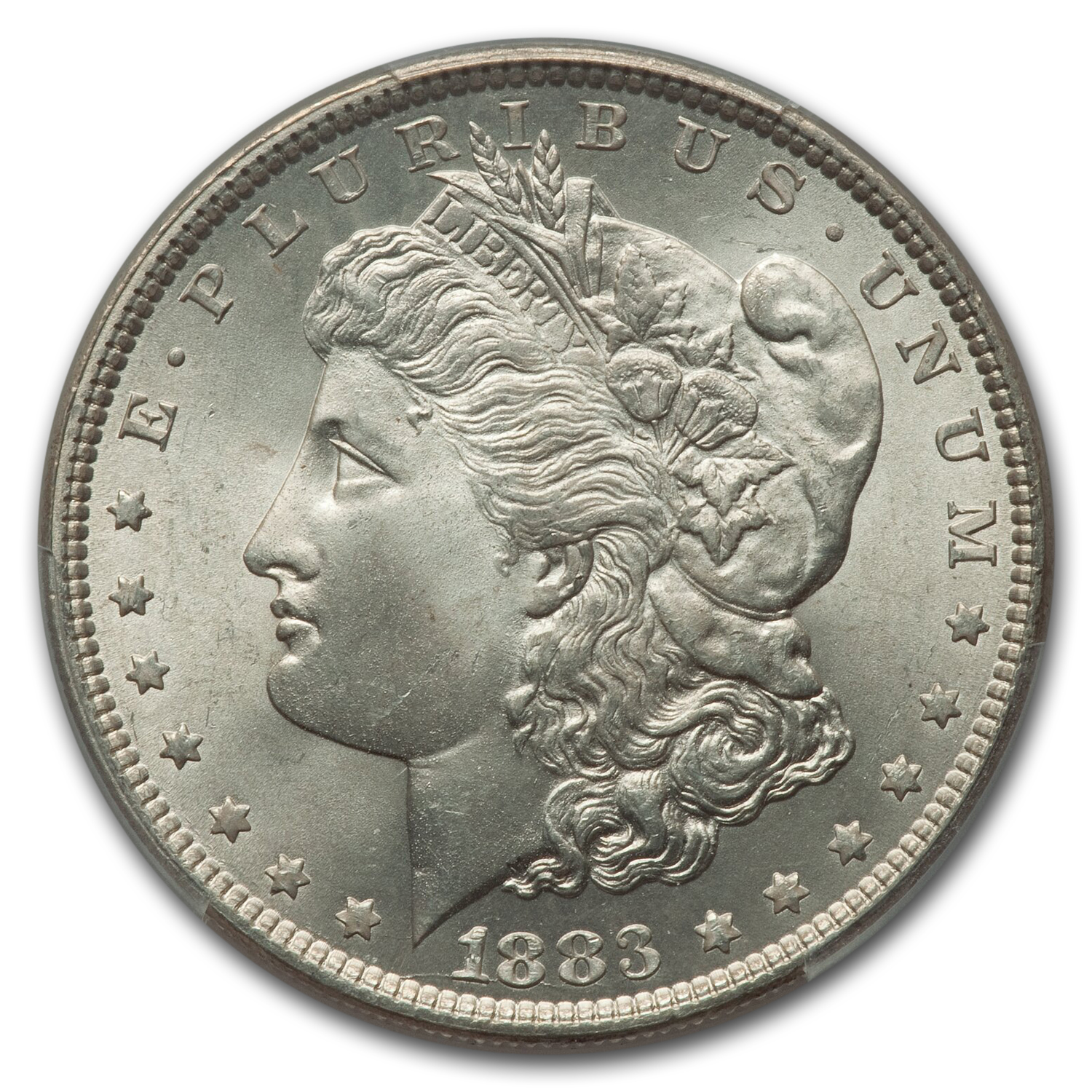 1883 Morgan Dollar MS-66 PCGS
