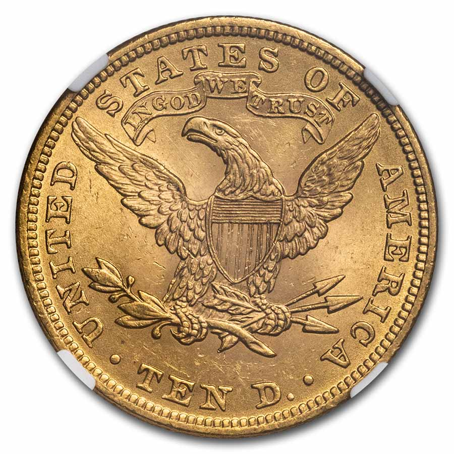 $10 Liberty Gold Eagle - MS-63 NGC