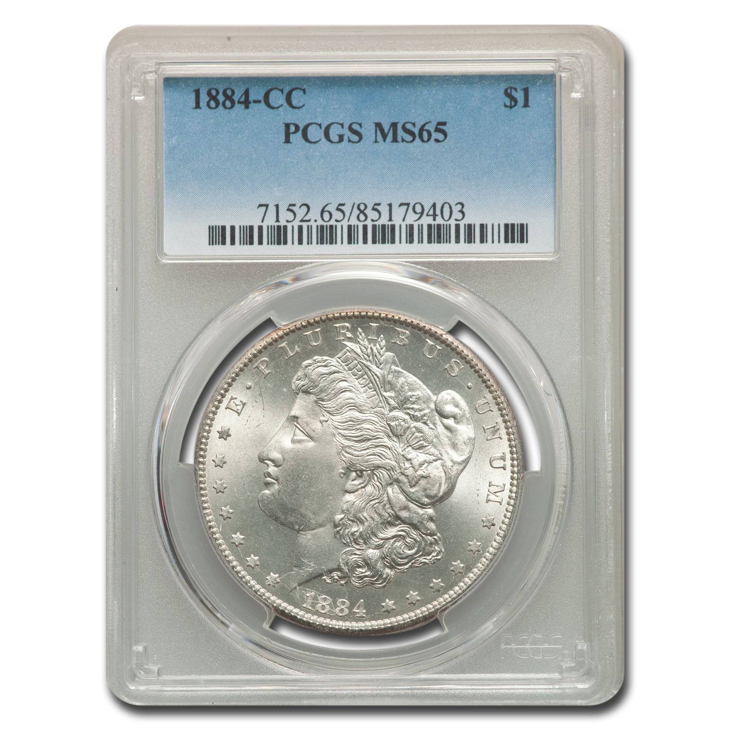1884-CC Morgan Dollar MS-65 PCGS