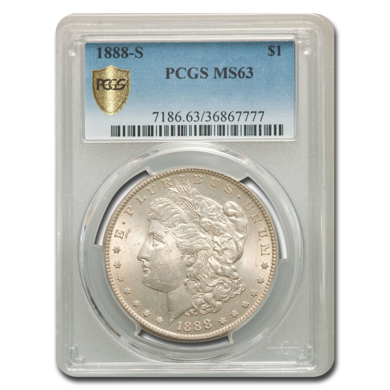 1888-S Morgan Dollar MS-63 PCGS