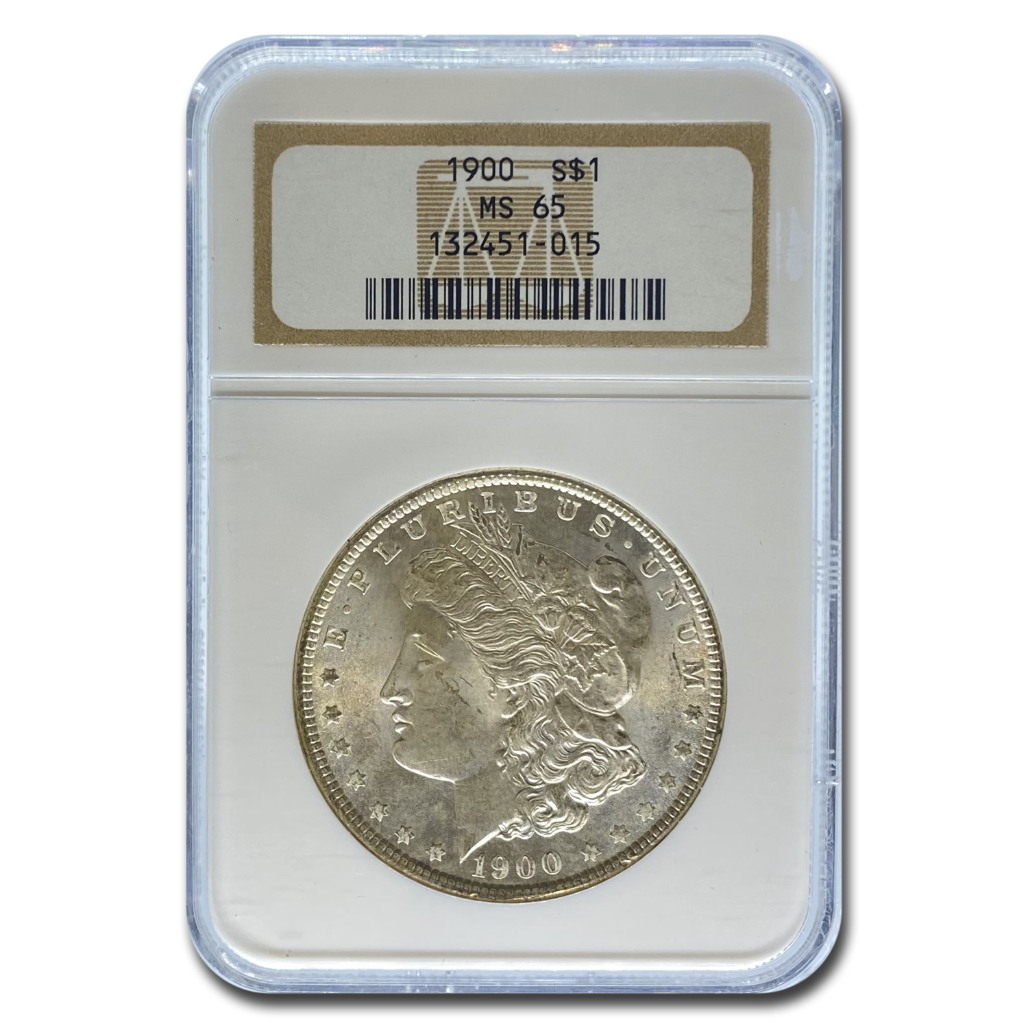 1900 Morgan Dollar MS-65 NGC