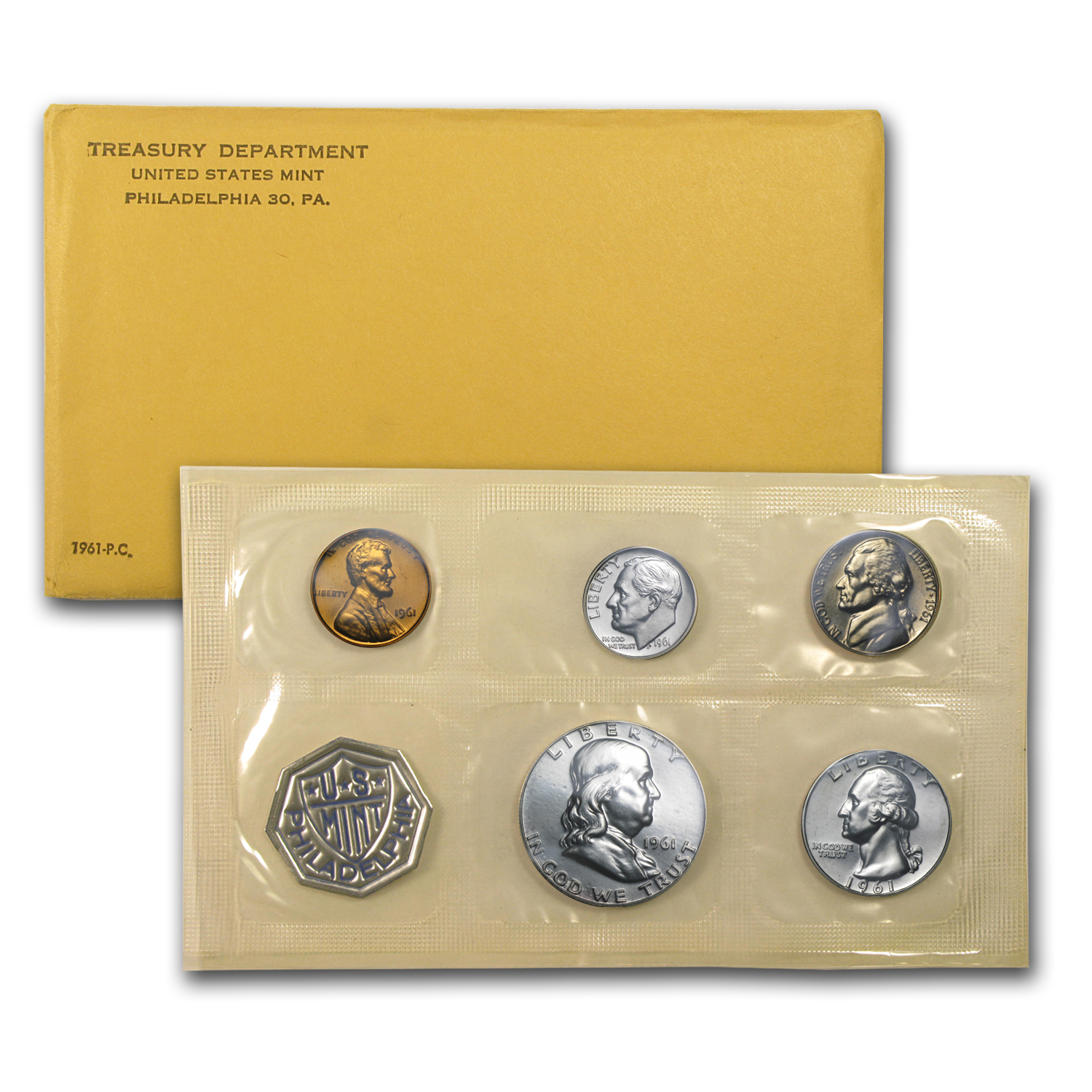 1961 U.S. Proof Set