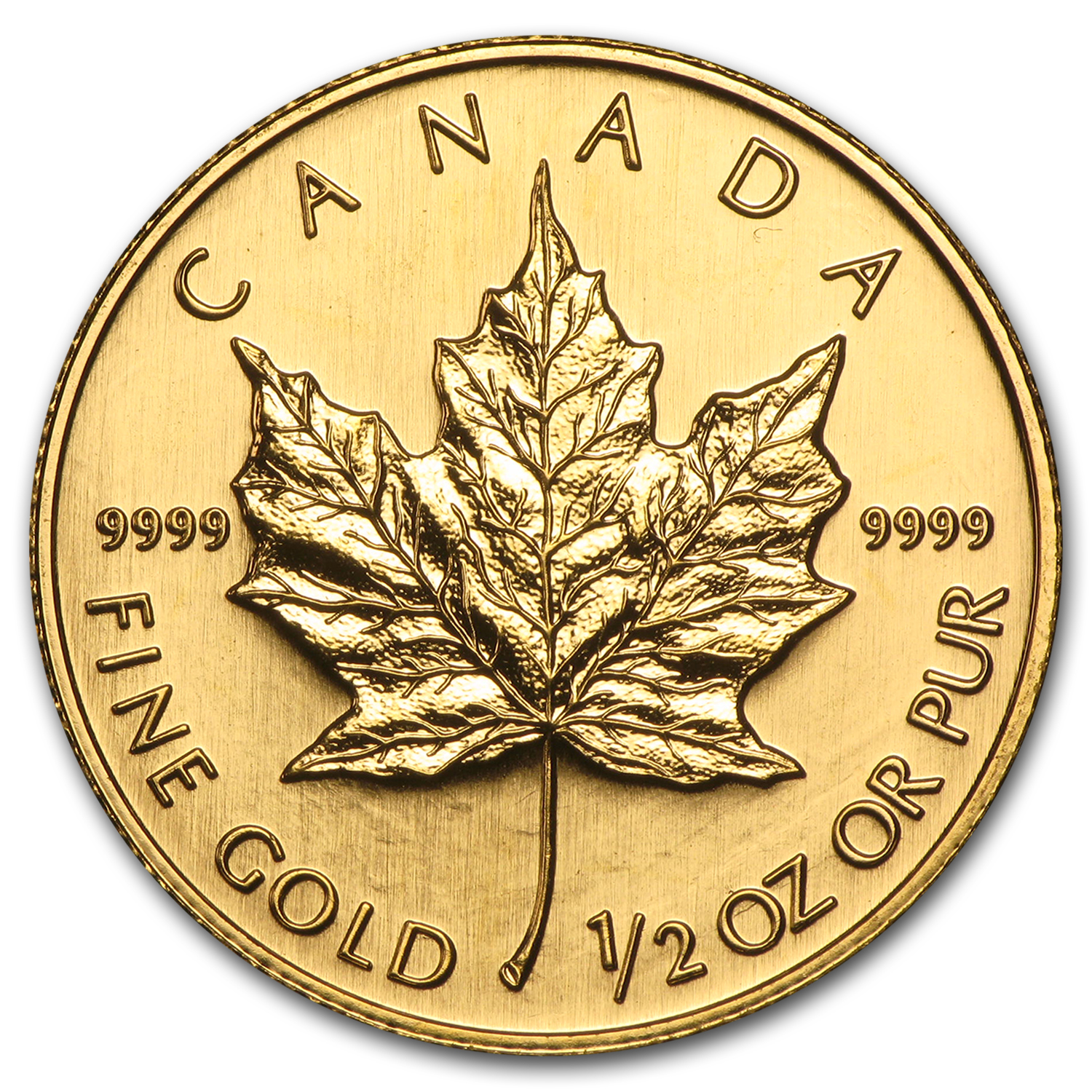 2006 Canada 1/2 oz Gold Maple Leaf BU