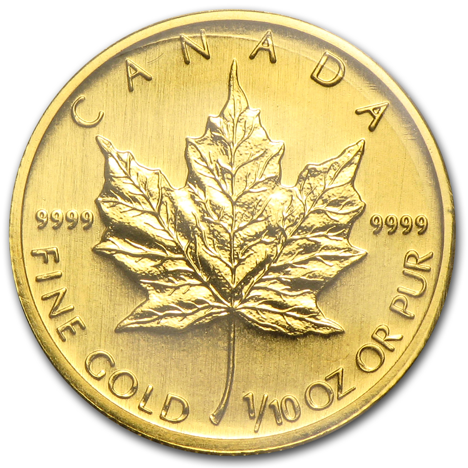 2006 Canada 1/10 oz Gold Maple Leaf BU