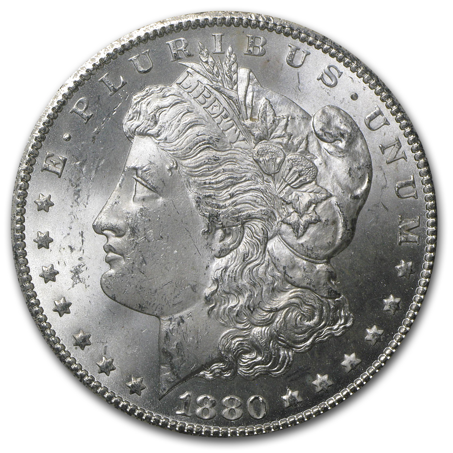 1880-CC Morgan Dollar MS-63 NGC (GSA Certified)