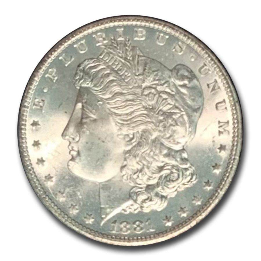 1881-CC Morgan Dollar MS-65 NGC - GSA Certified