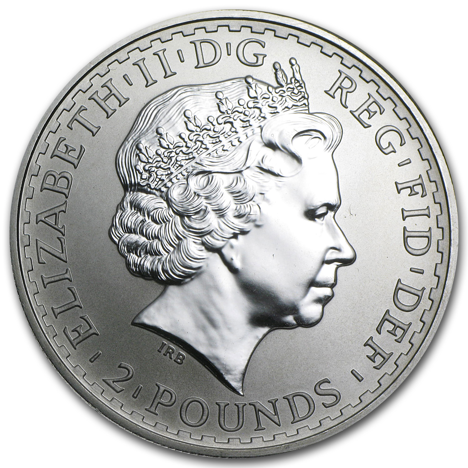 2000 Great Britain 1 oz Silver Britannia BU