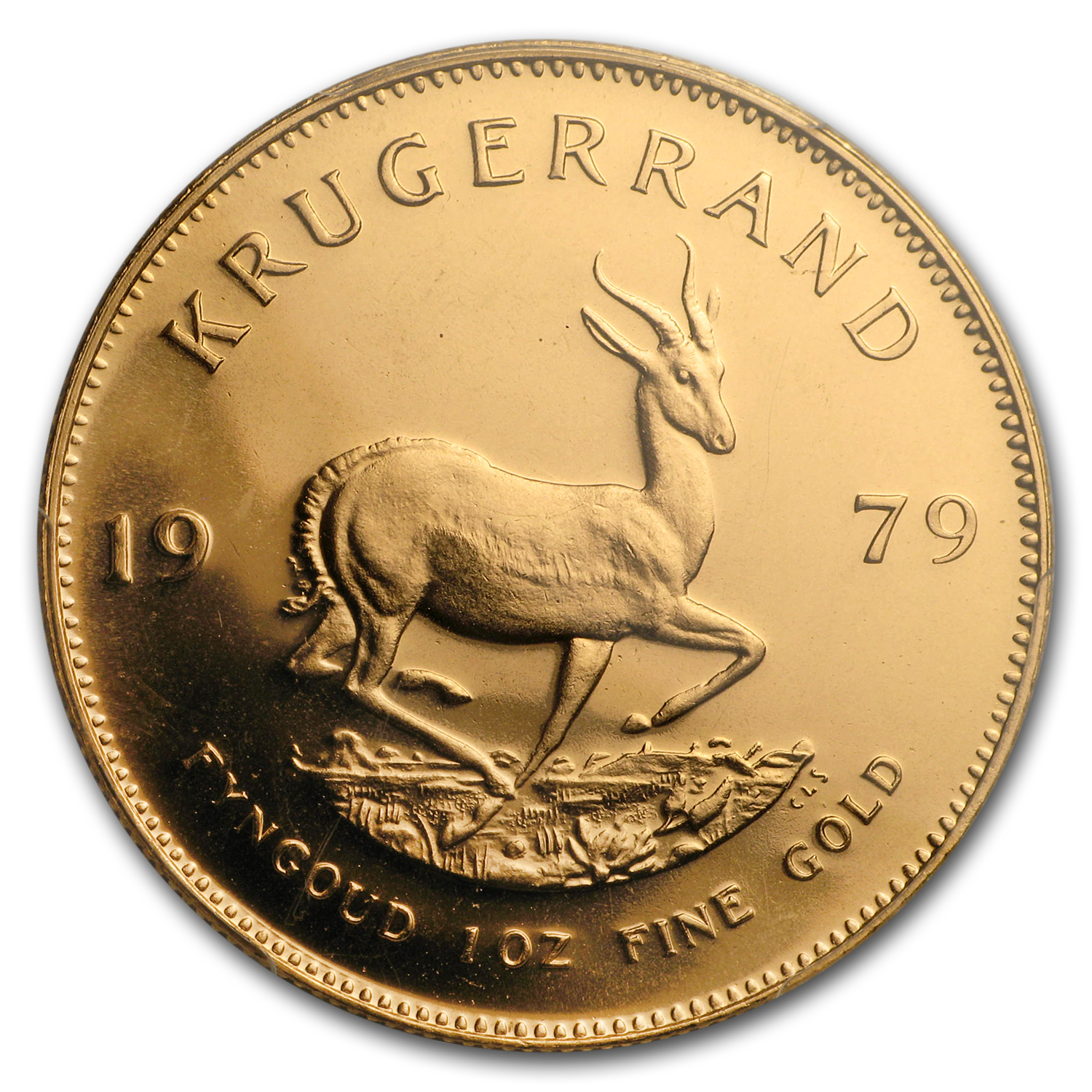 1979 South Africa 1 oz Gold Krugerrand MS-68 PCGS
