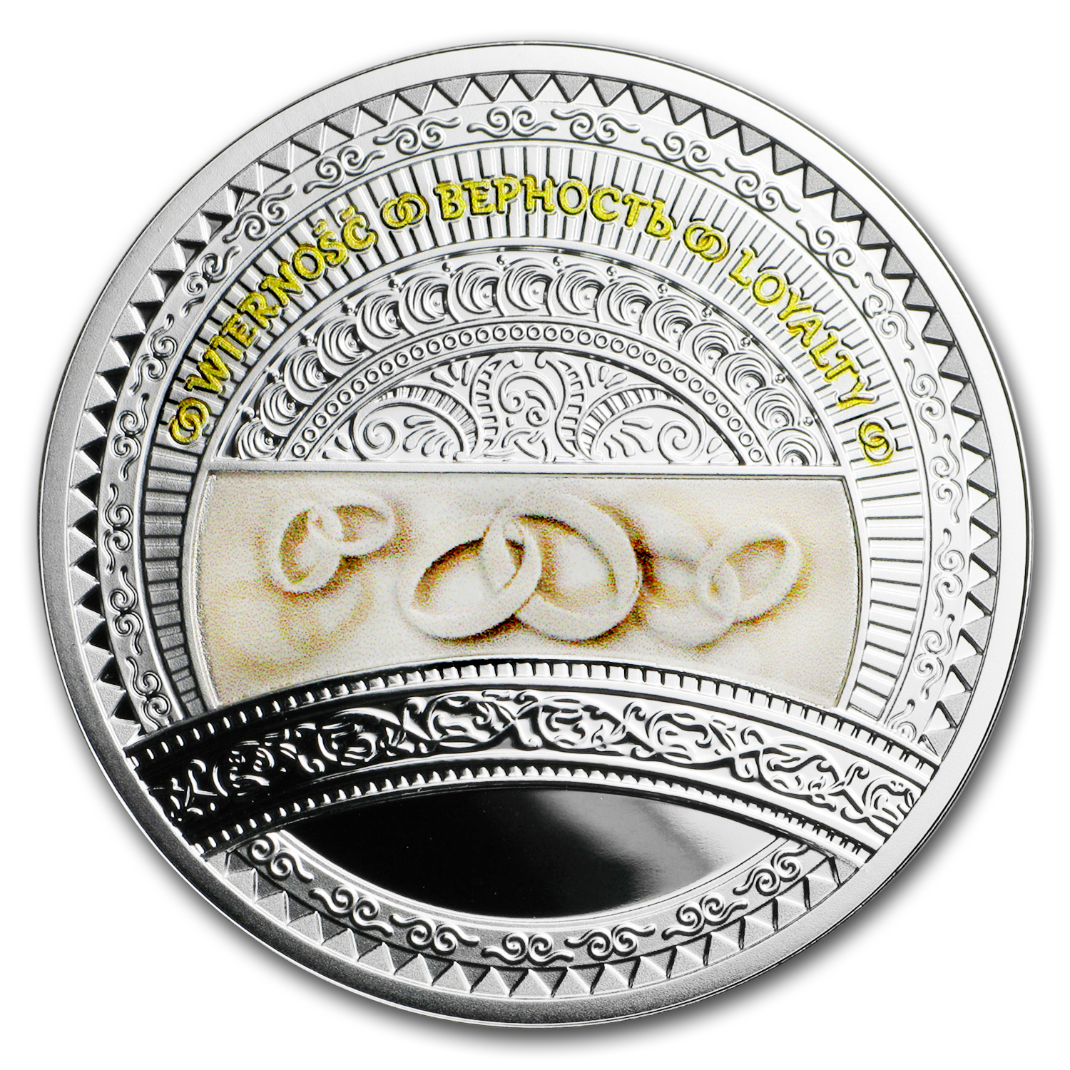 2016 Niue Silver The World of Your Soul (Loyalty)