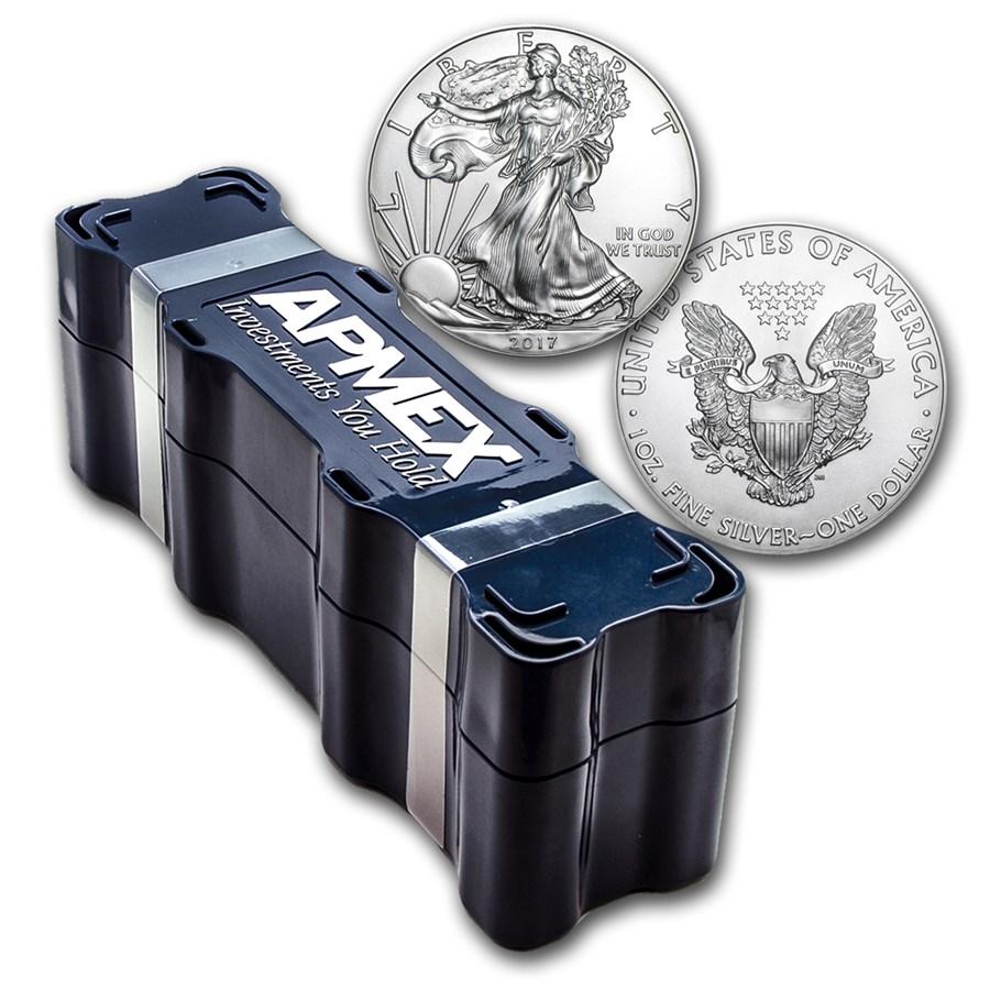 2017 100 Coin Silver American Eagle Mini Monster Box