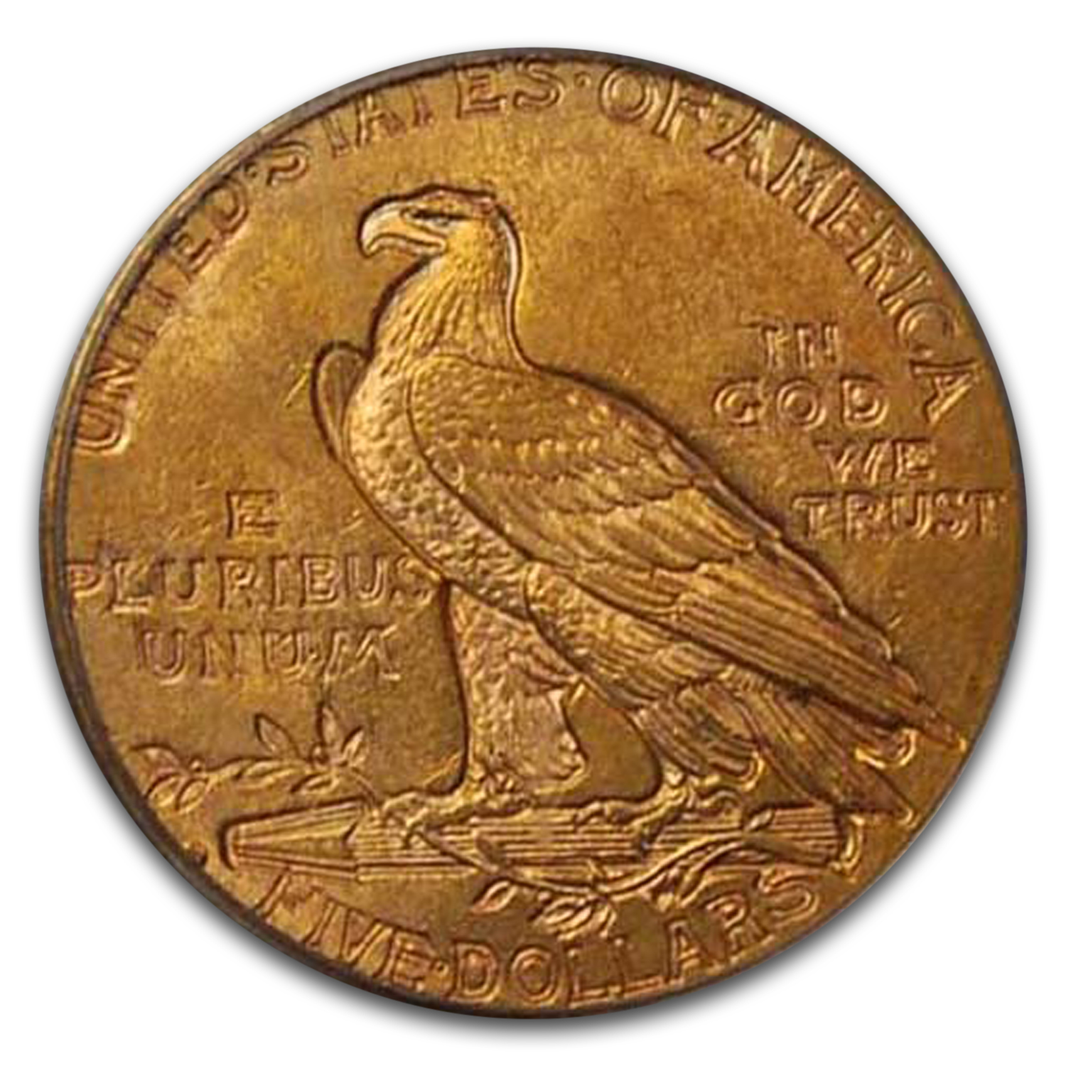 1914-D $5 Indian Gold Half Eagle MS-63 PCGS