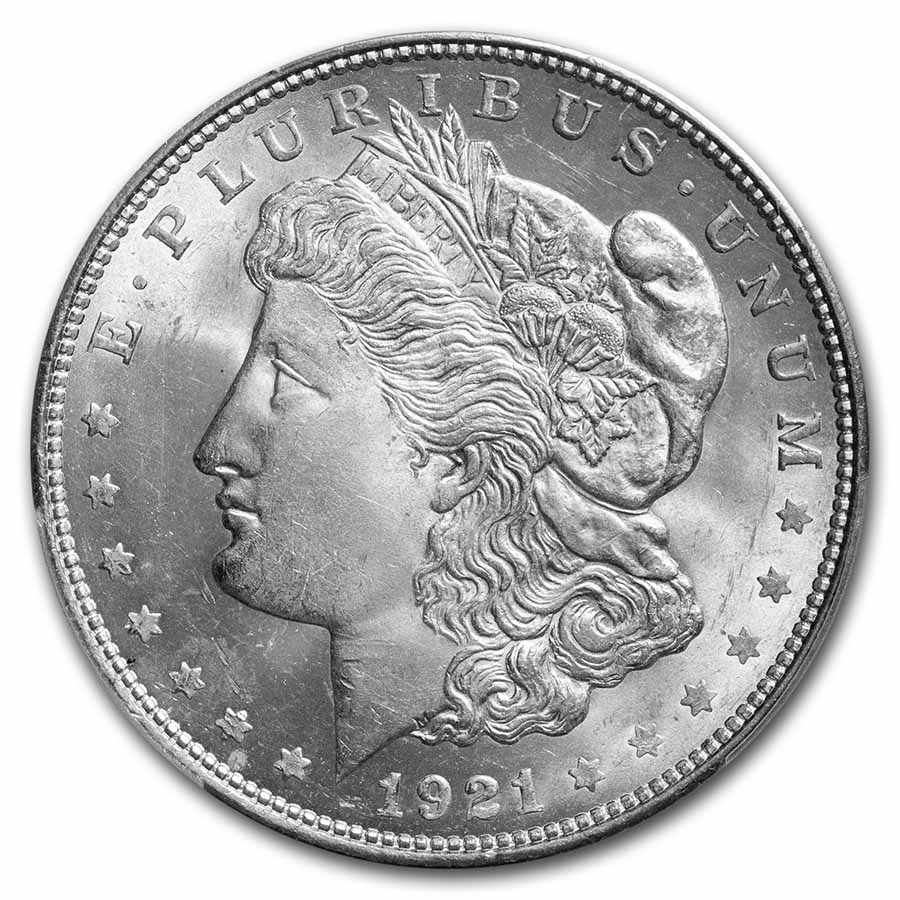 1921-D Morgan Dollar MS-66 PCGS