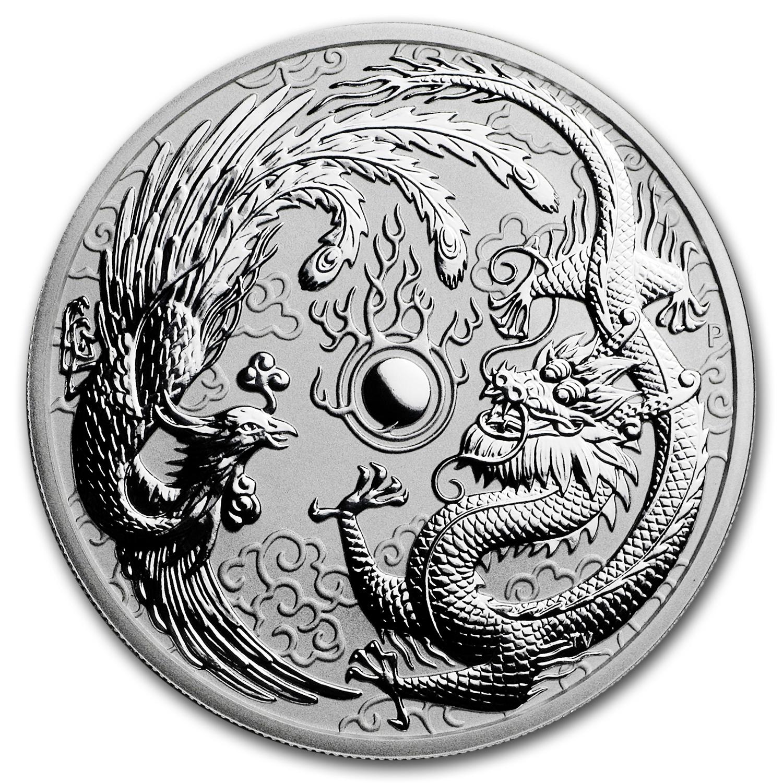 Buy 2017 Australia 1 Oz Silver Dragon Amp Phoenix Bu Online