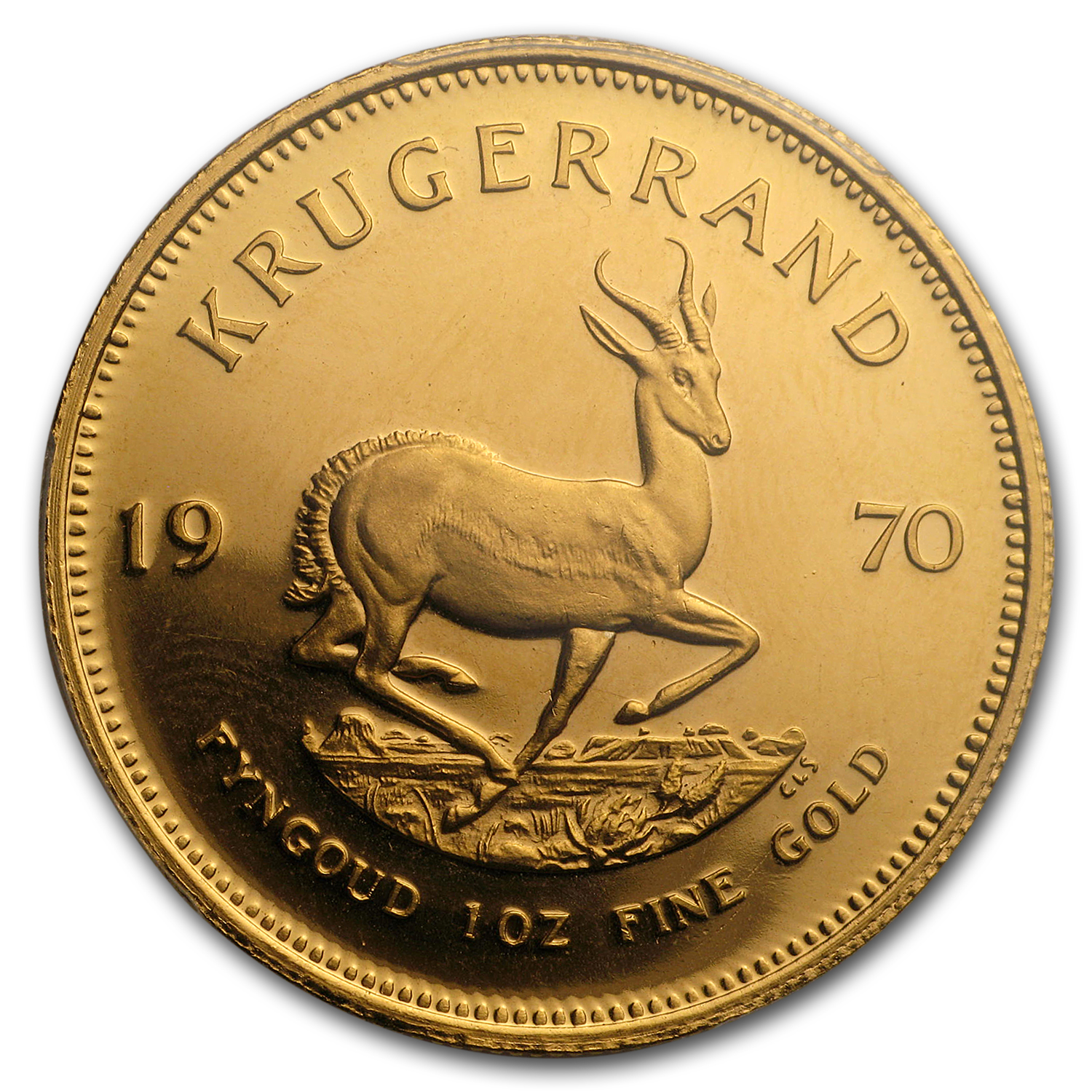 1970 South Africa 1 oz Proof Gold Krugerrand PR-66 PCGS