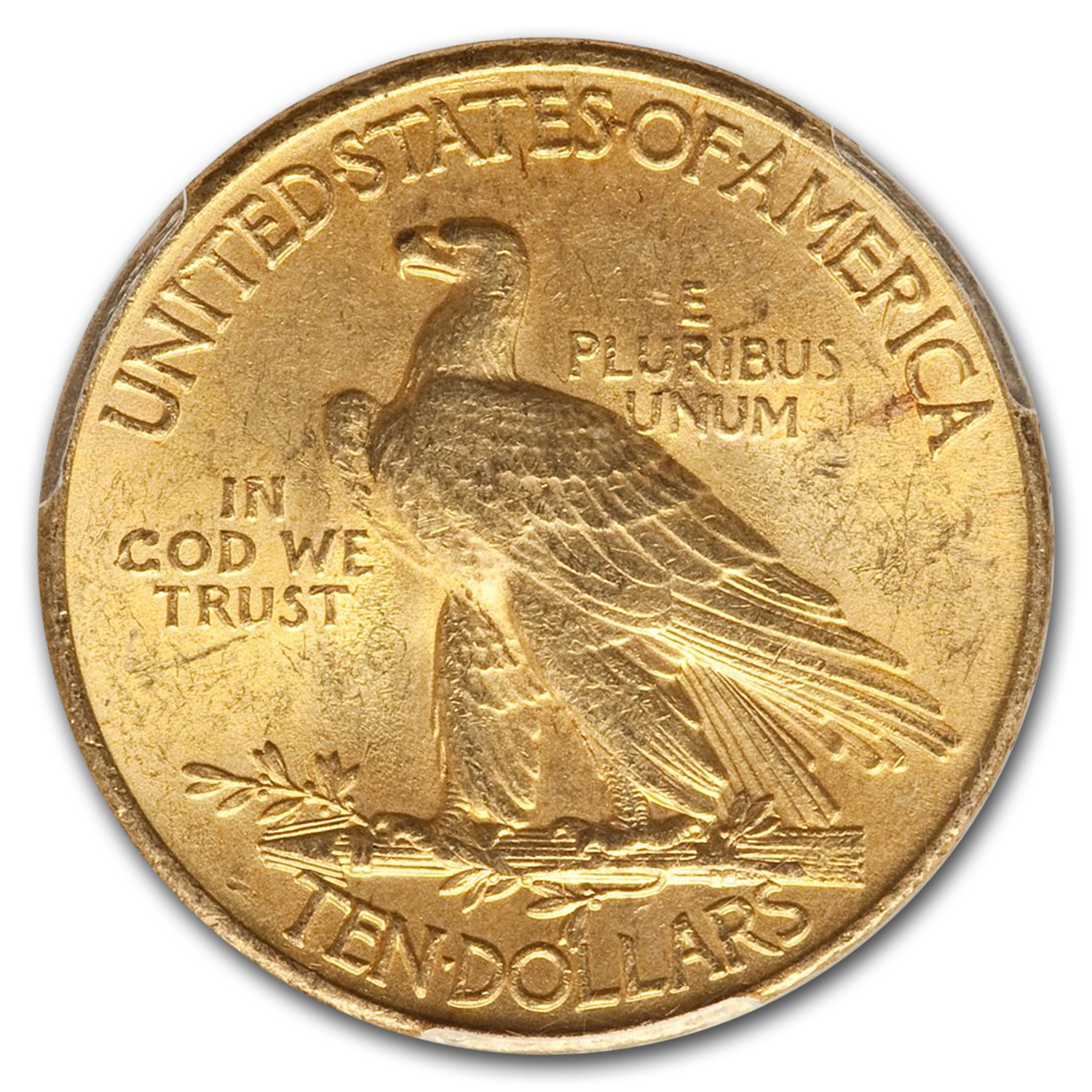 1915 $10 Indian Gold Eagle MS-63 PCGS