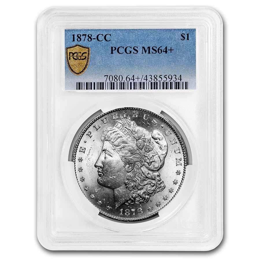 1878-CC Morgan Dollar MS-64+ PCGS
