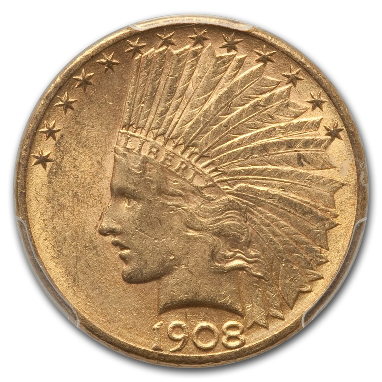 1908-D $10 Indian Eagle MS-61 PCGS