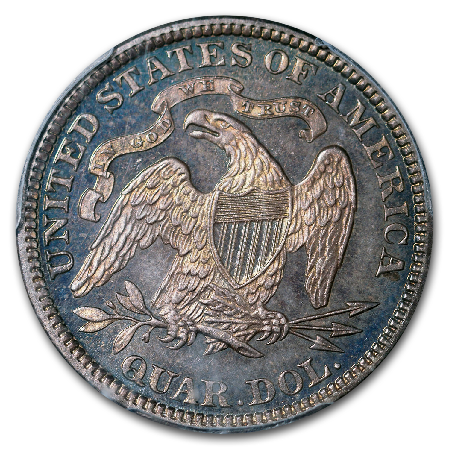 1885 Seated Liberty Quarter PR-66 PCGS