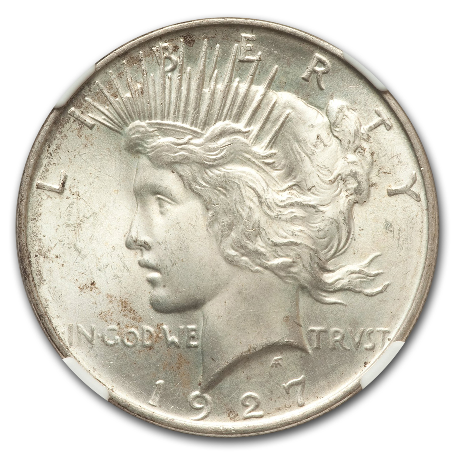 1927-D Peace Dollar MS-65 NGC