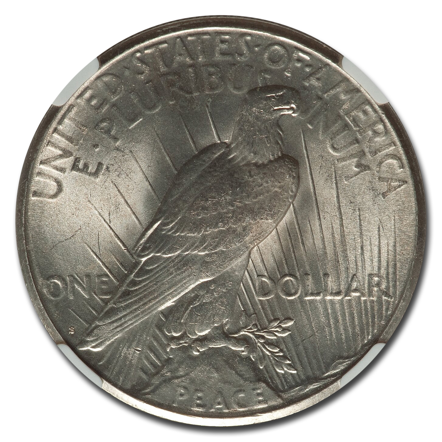 1924-S Peace Dollar MS-65 NGC