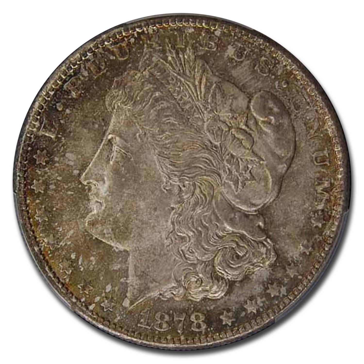1878-S Morgan Dollar MS-66 CAC PCGS