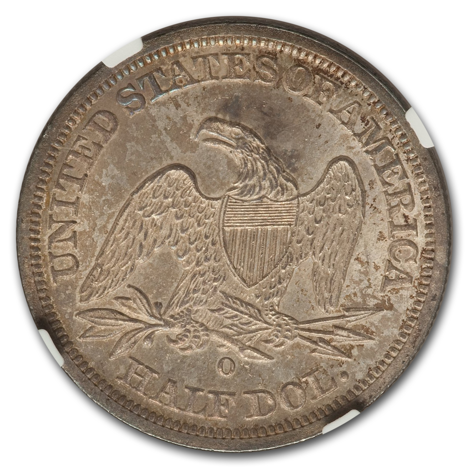 1843-O Seated Liberty Half Dollar MS-66 NGC