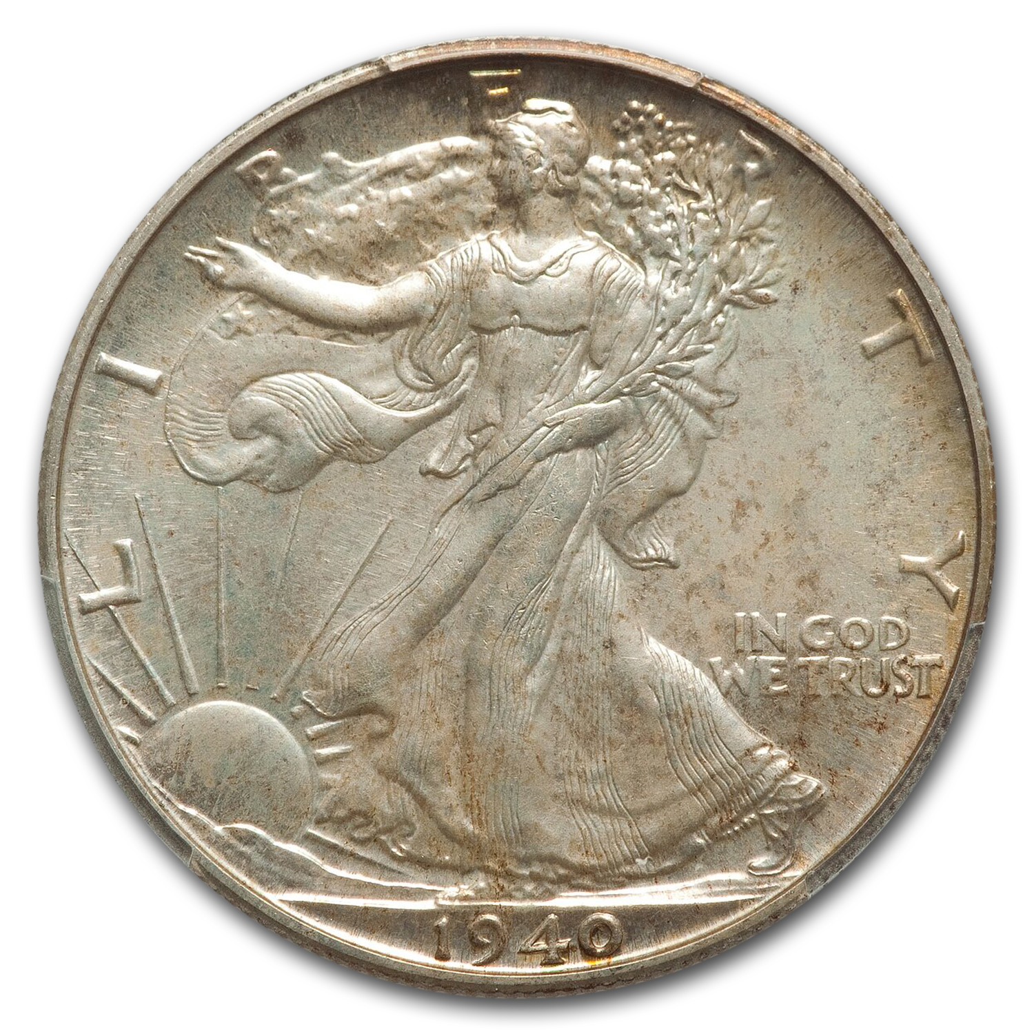 1940 Walking Liberty Half Dollar PR-67 PCGS