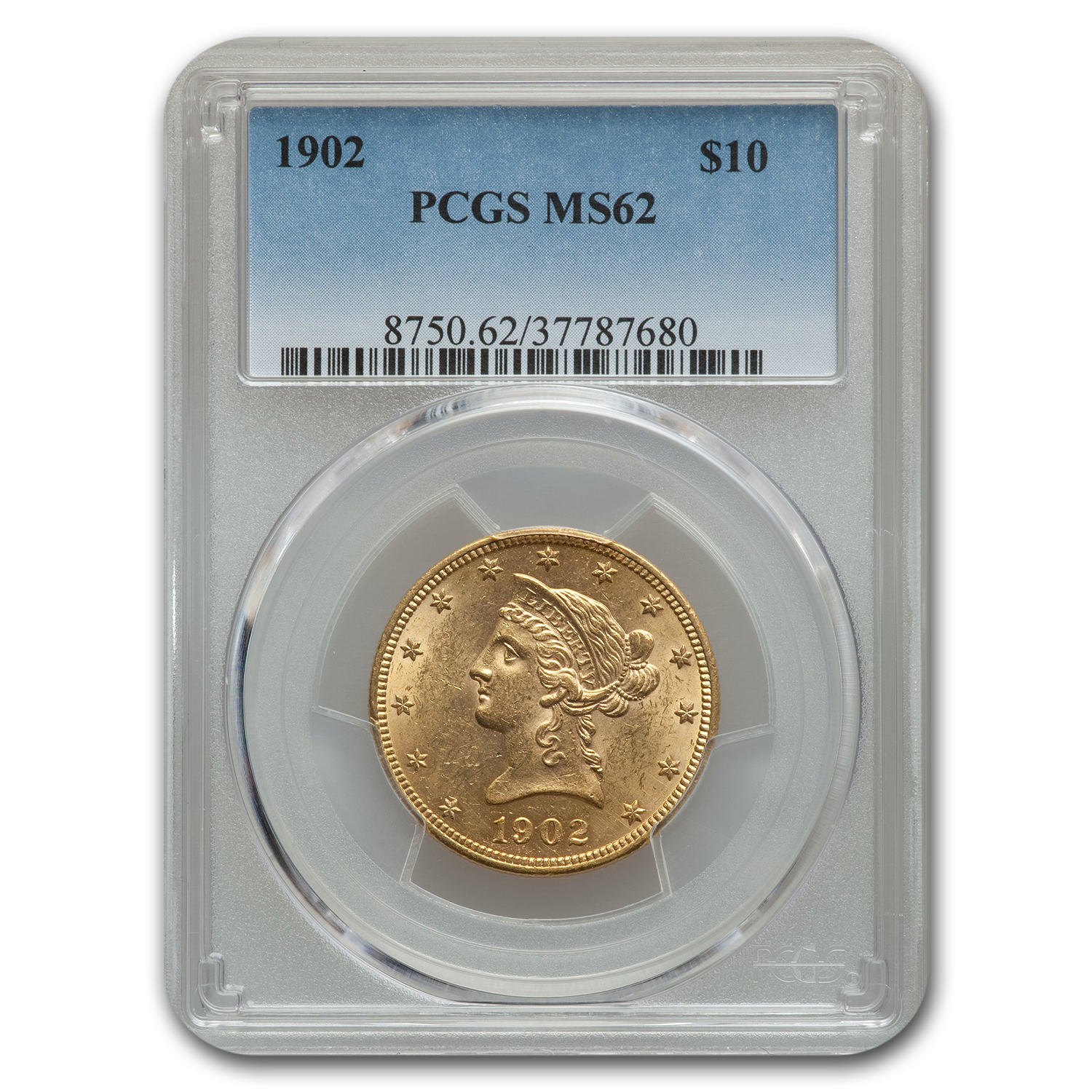 1902 $10 Liberty Eagle MS-62 PCGS