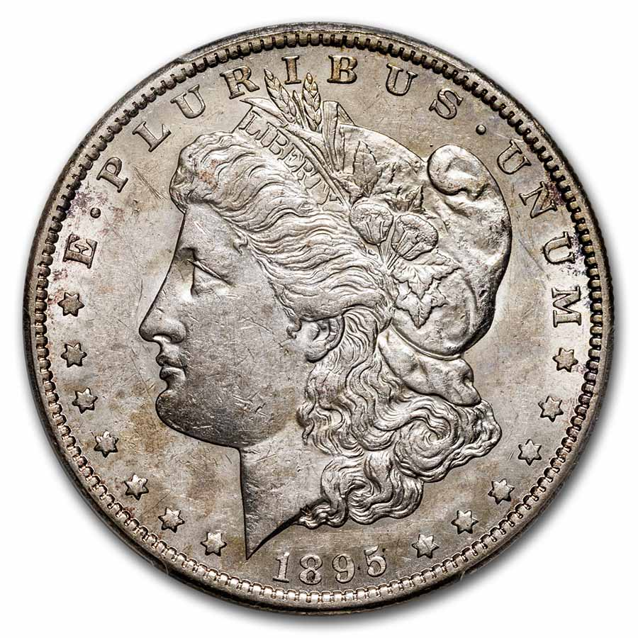 1895-S Morgan Dollar AU-53 PCGS