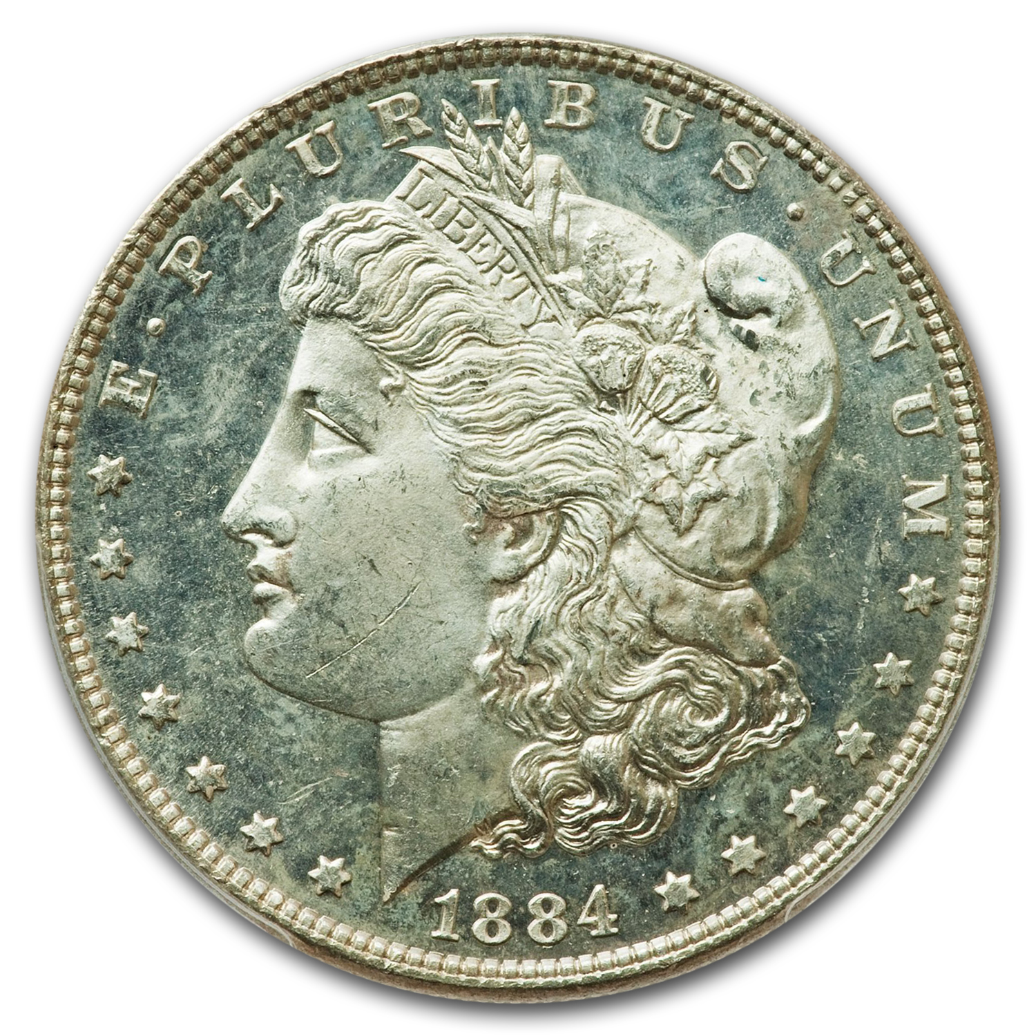 1884 Morgan Dollar MS-64 PCGS (DMPL)