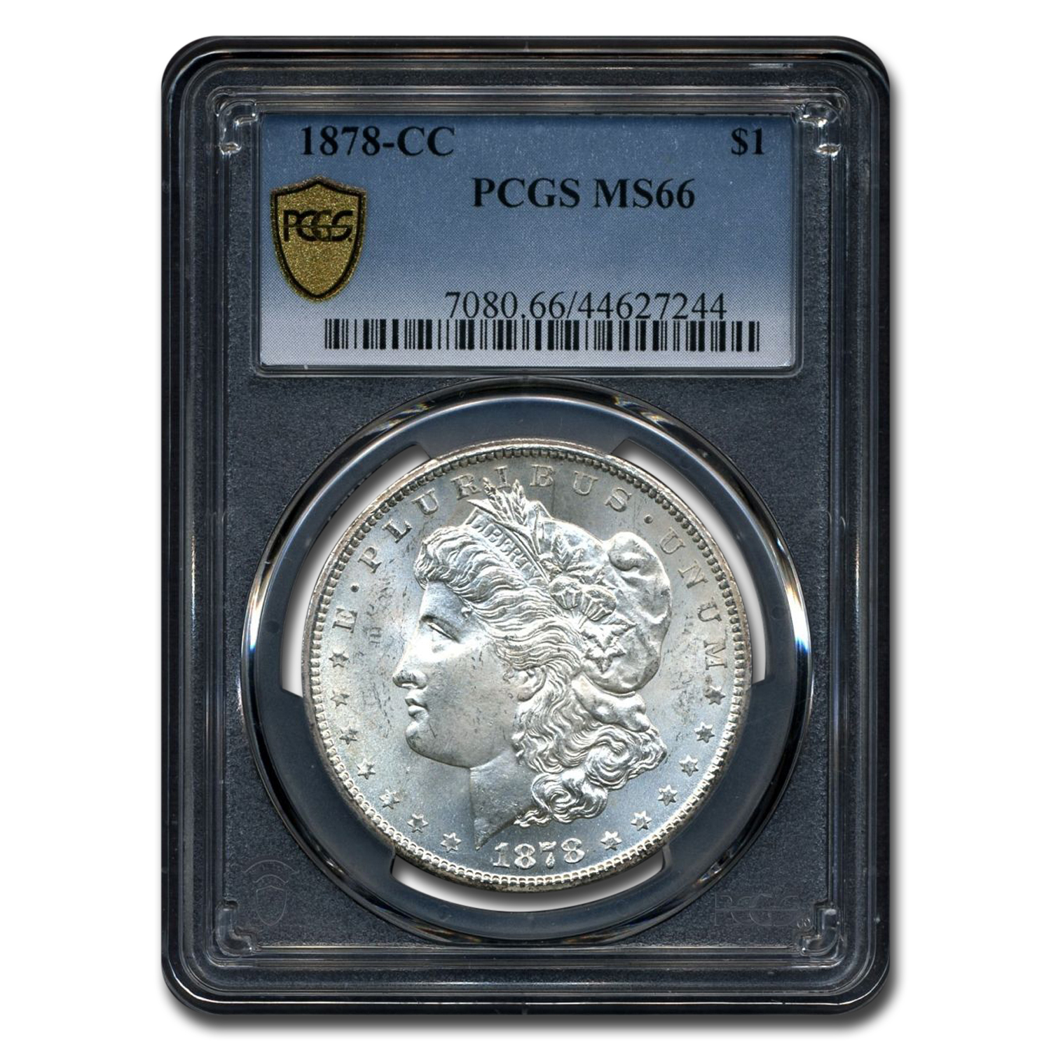1878-CC Morgan Dollar MS-66 PCGS