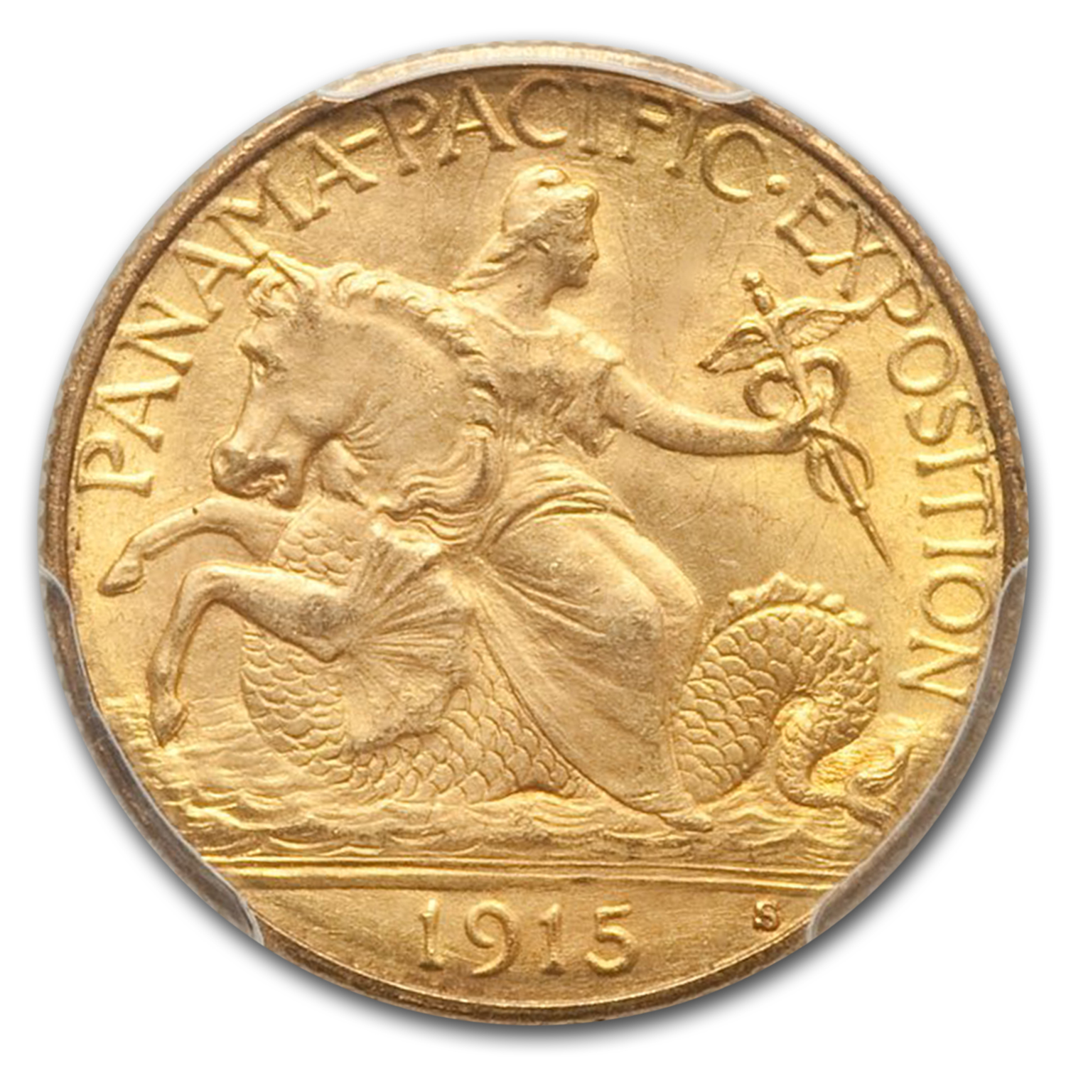 1915-S Gold $2.50 Panama-Pacific MS-65 PCGS