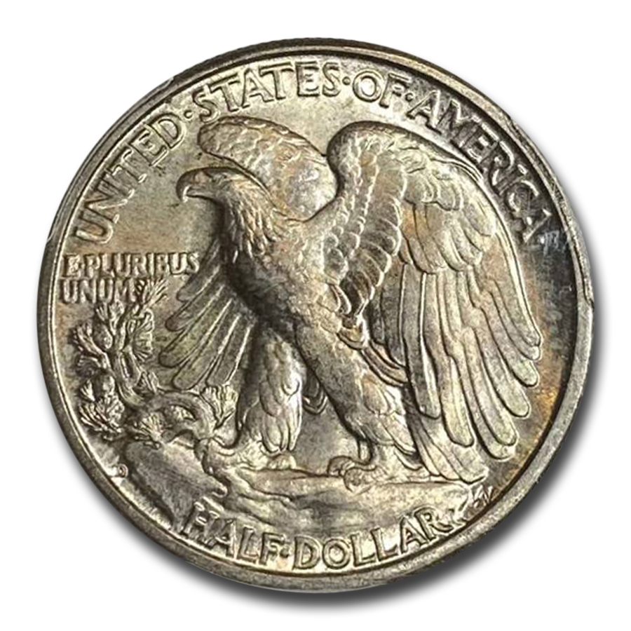 1937-D Walking Liberty Half Dollar MS-65 PCGS