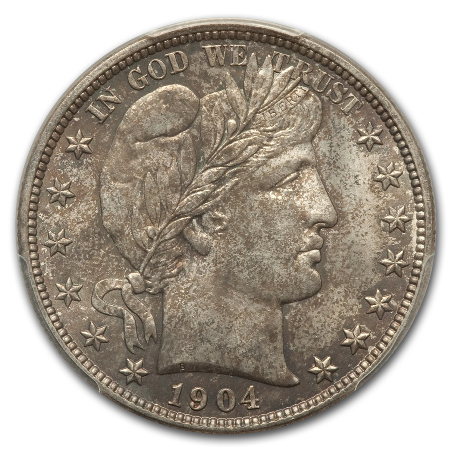 1904 Barber Half Dollar MS-63 PCGS