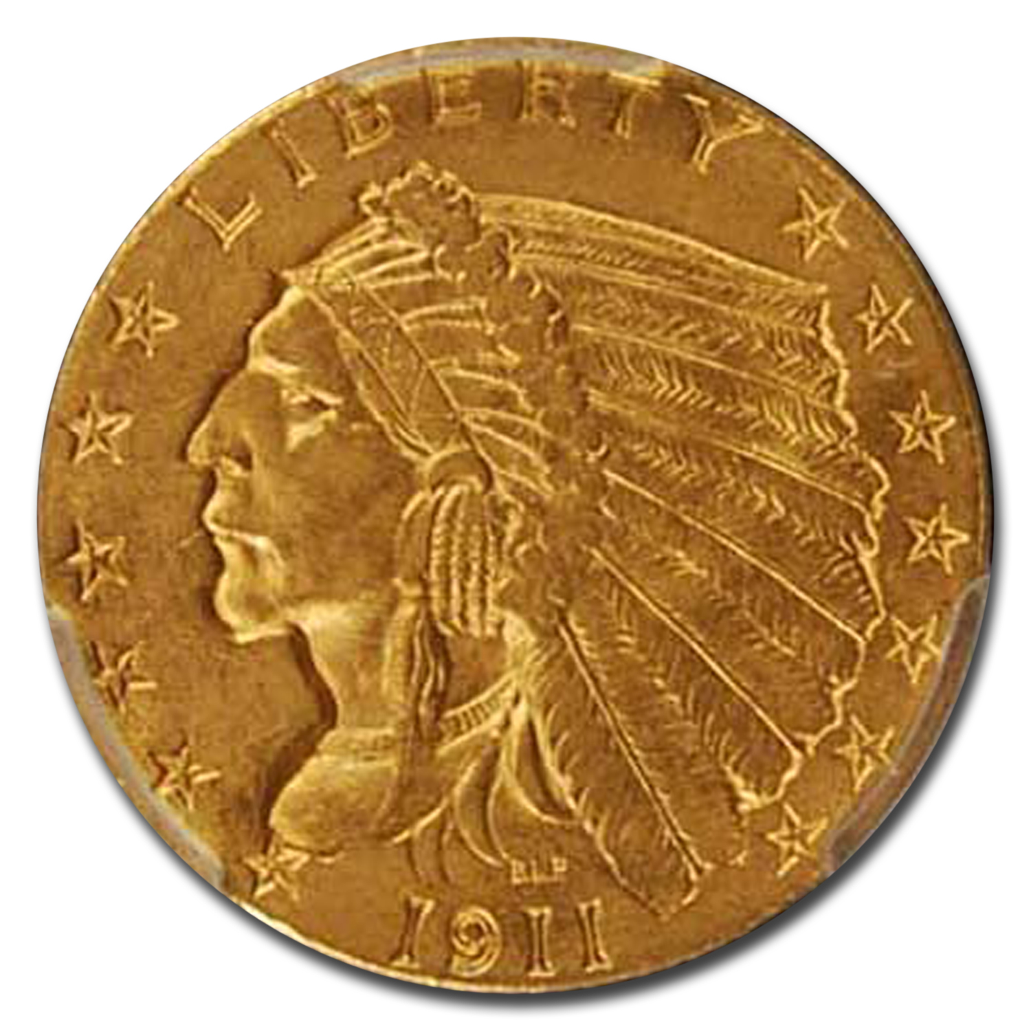 1911 $5 Indian Half Eagle MS-63 PCGS